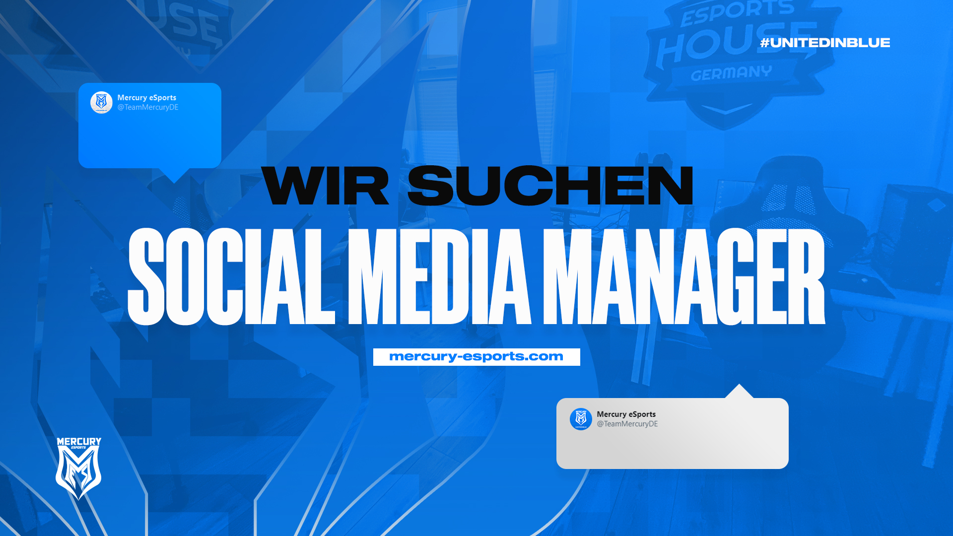 Mercury eSports sucht Social Media Manager